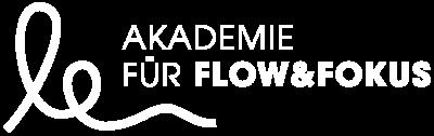 Akademie Flow & Fokus Logo negativ weiß